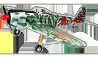 hangar 9 Ki-43 Oscar