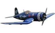 Black Horse Model F4U Corsair 55CC