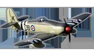FlightLine RC Hawker Sea Fury