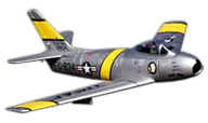 Freewing Model F-86 Sabre