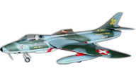 TopRCModel Hawker Hunter