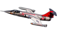 Freewing Model F-104 Starfighter