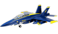 E-flite F-18 Blue Angels