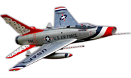 Flex Innovations F-100D Super Sabre