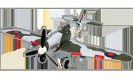 HobbyKing Hawker Hurricane Mk IIB