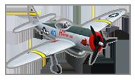 Dynam P-47D Thunderbolt V2
