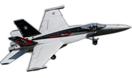 Freewing Model F/A-18E Tophatters