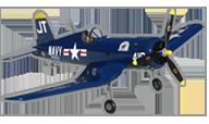 hangar 9 F4U Corsair