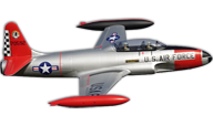 Freewing Model T-33 Shooting Star