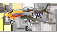 fms P-51D Never Miss