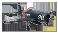 Arrows RC F8F Bearcat