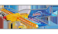 Seagull Models Harrier 3D