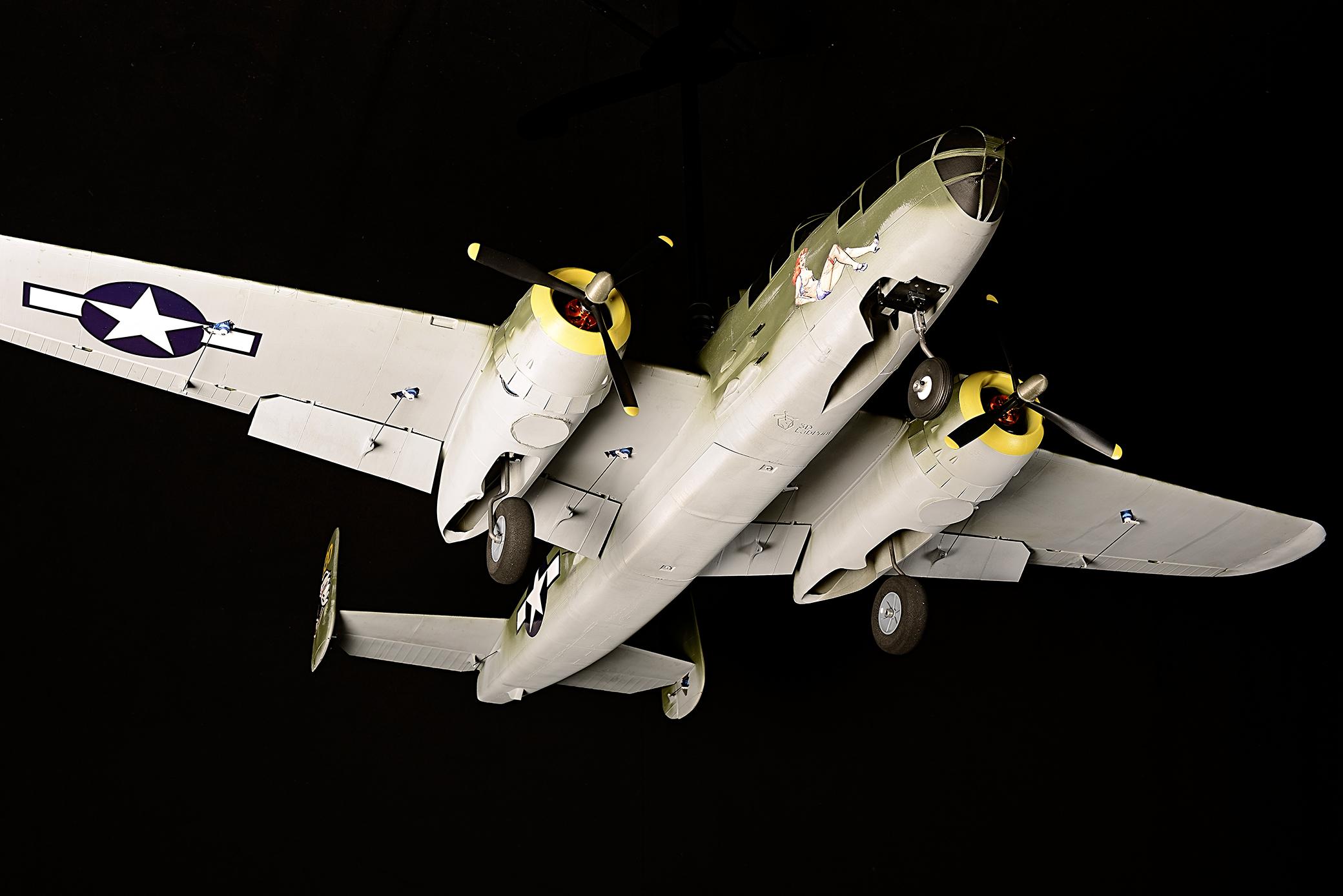 B-25J Mitchell 3D LabPrint