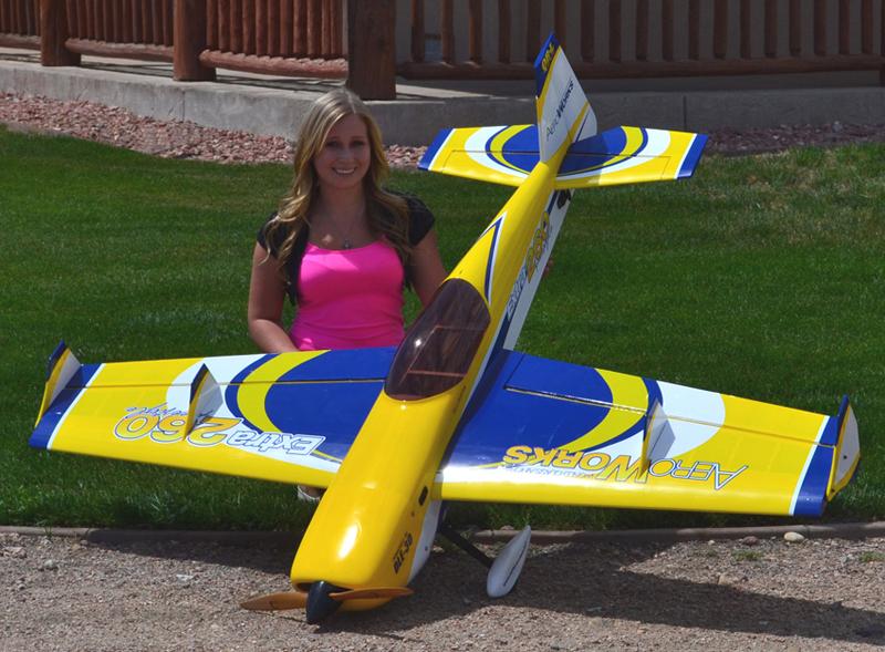 Extra 260 QB-L 30cc Aeroworks