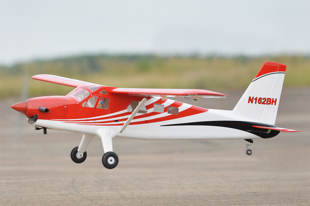 DHC-2 Turbo Beaver Black Horse Model