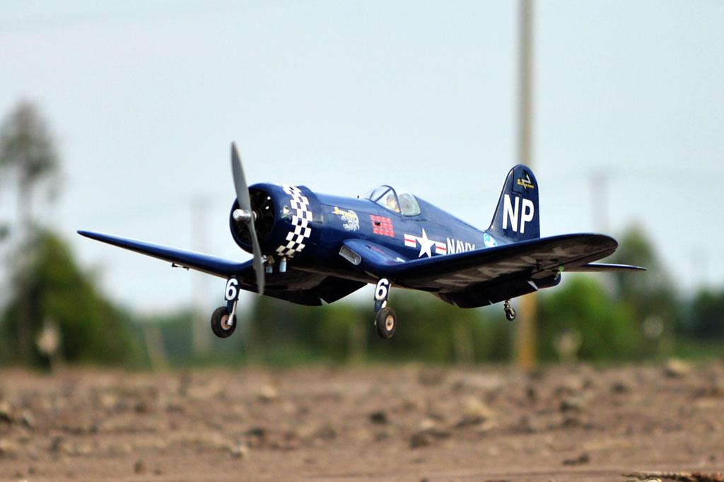 F4U Corsair Black Horse Model