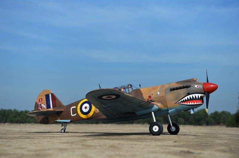 P-40C Tomahawk Black Horse Model
