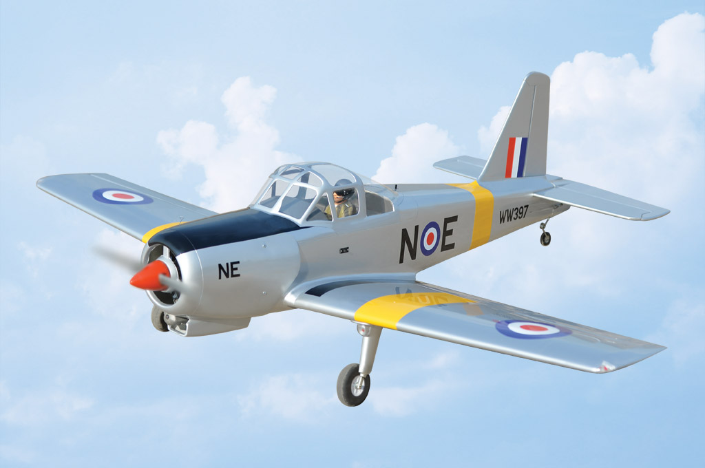 Percival P-56 Provost Black Horse Model