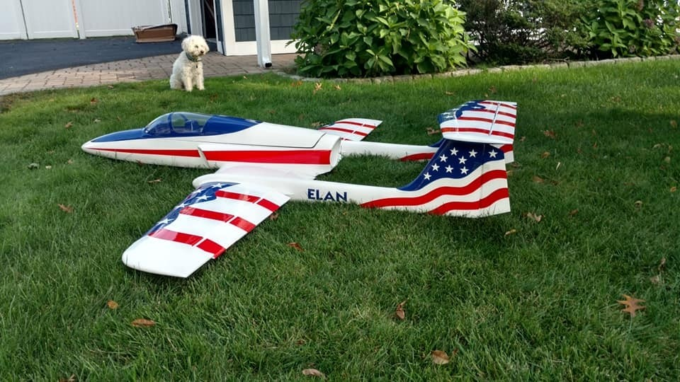 ELAN Stars & Stripes Boomerang RC Jets