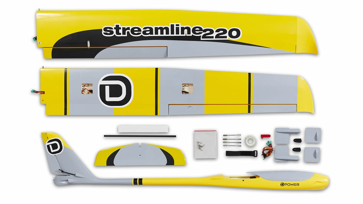 Streamline 220 D-POWER Modellbau