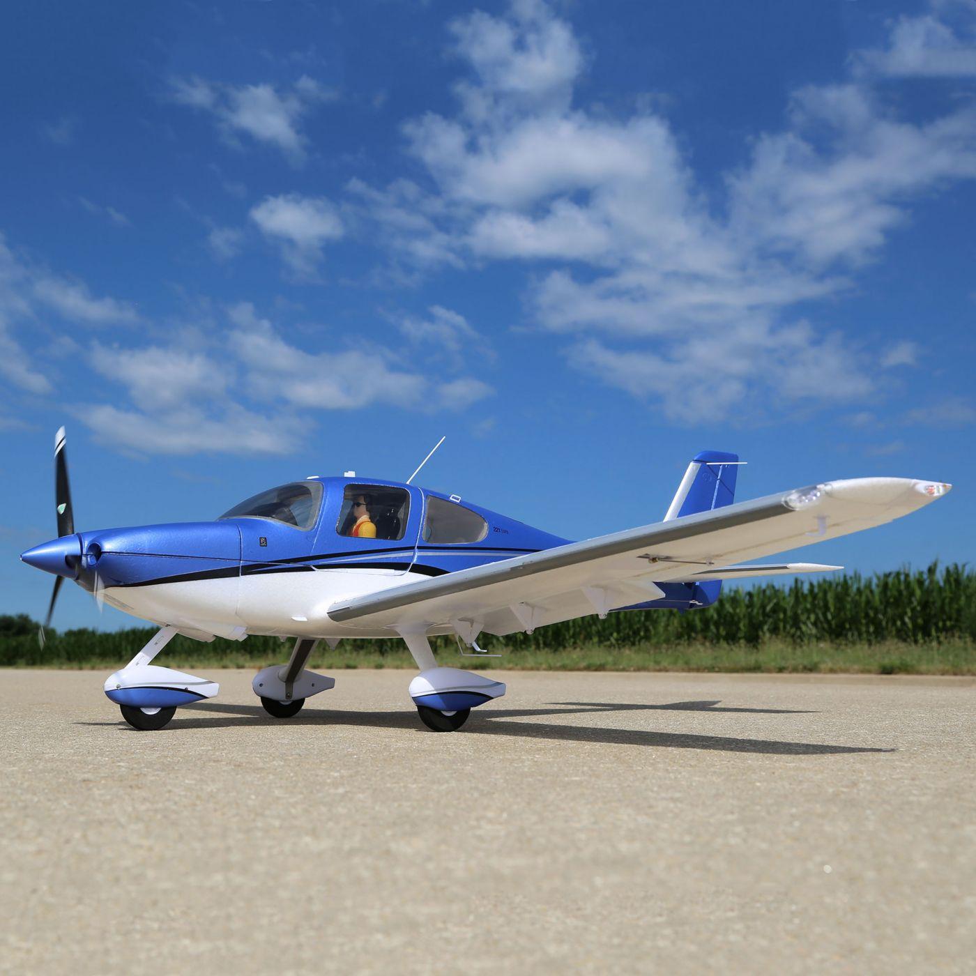 Cirrus SR22-T E-flite
