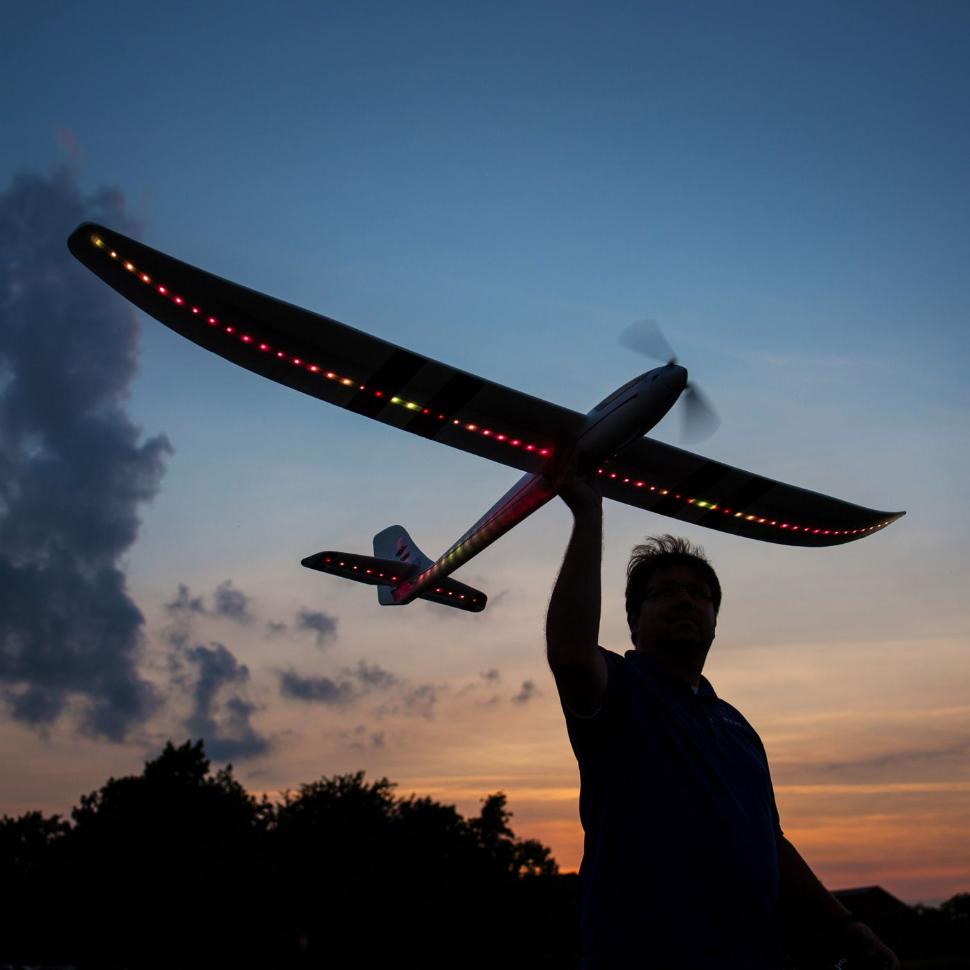 Night Radian E-flite