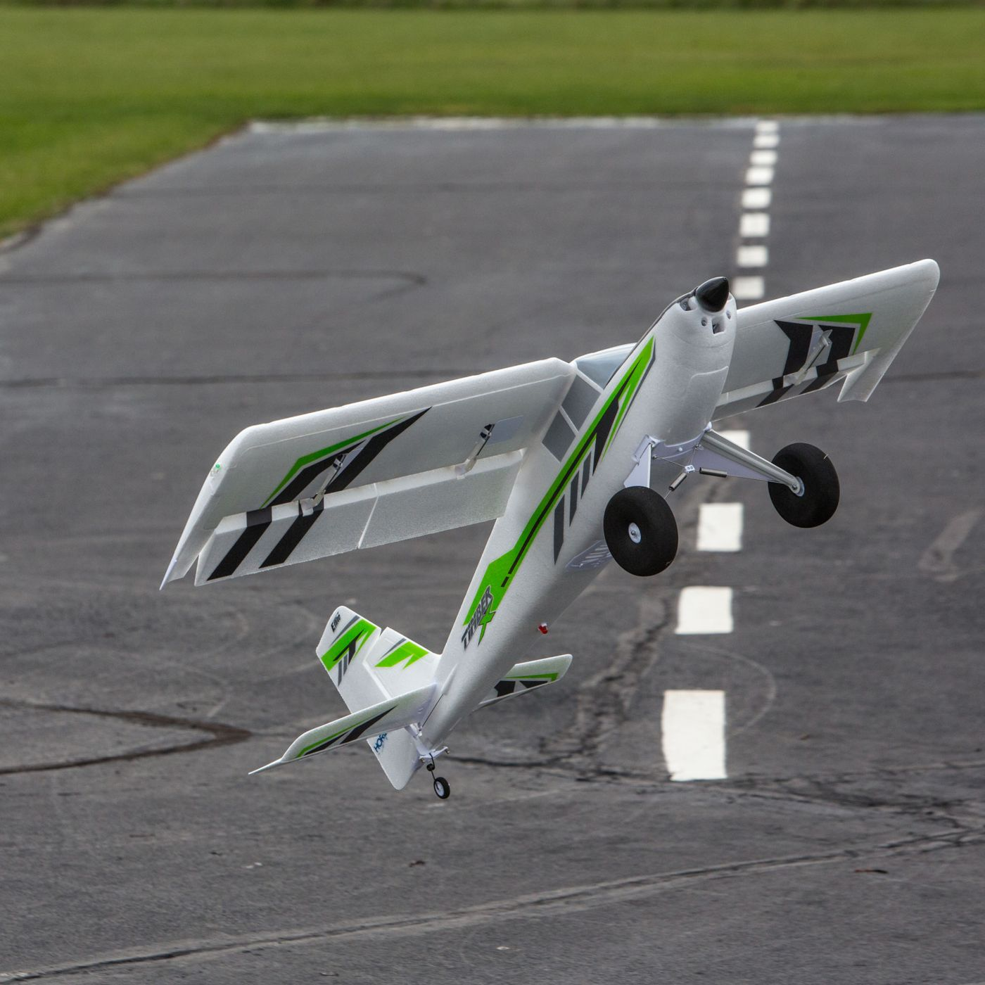 Timber STOL Trifft 3D E-flite