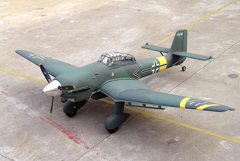 JU-87D Stuka ESM