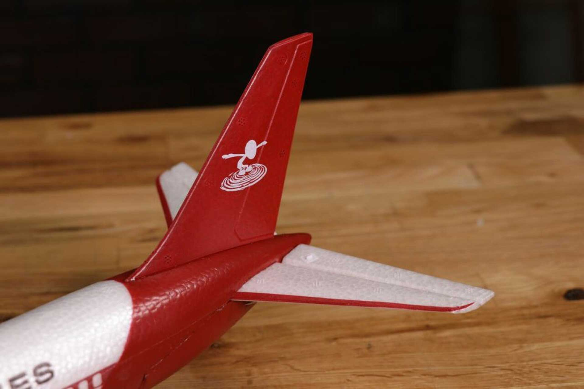 Micro Airliner Flite Test