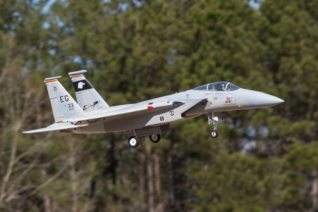 F-15C Eagle Freewing Model