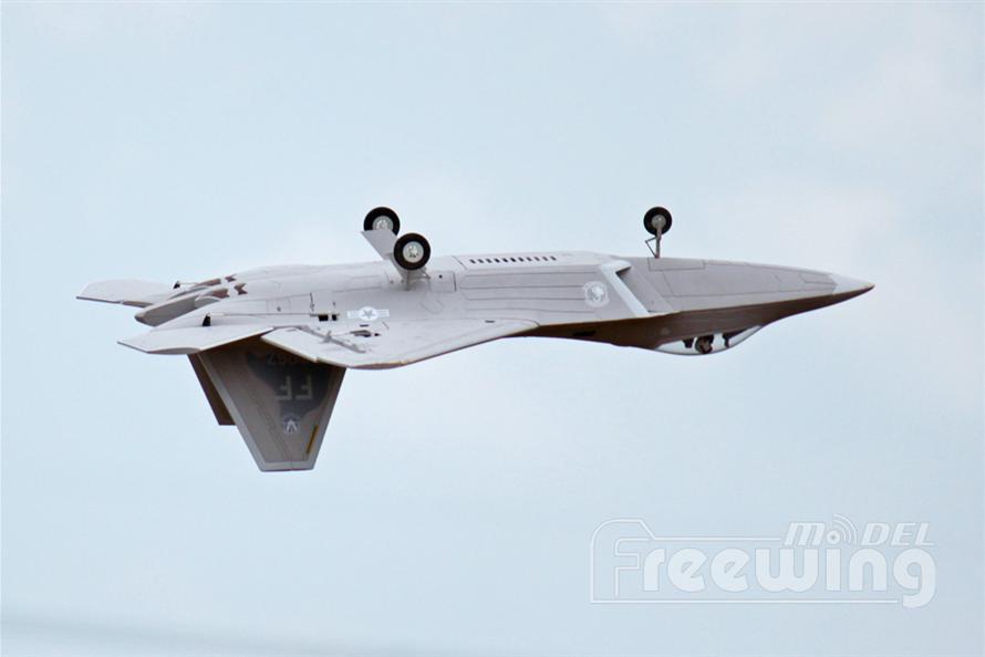 F-22 Raptor Freewing Model