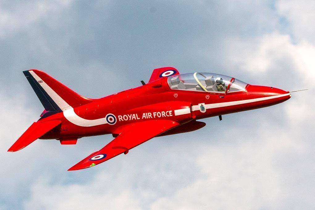 Hawk T1 Red Arrow Freewing Model