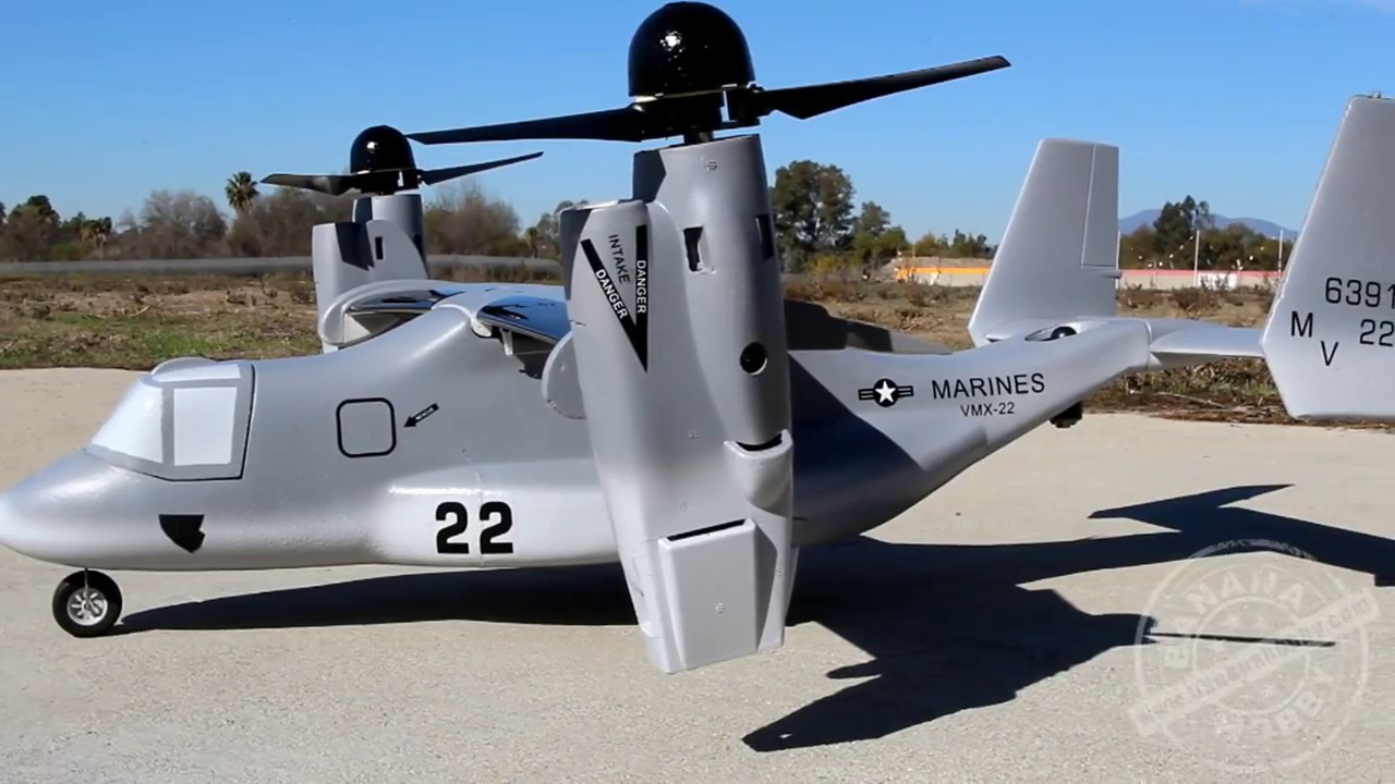 VTOL V-22 Osprey Global AeroFoam