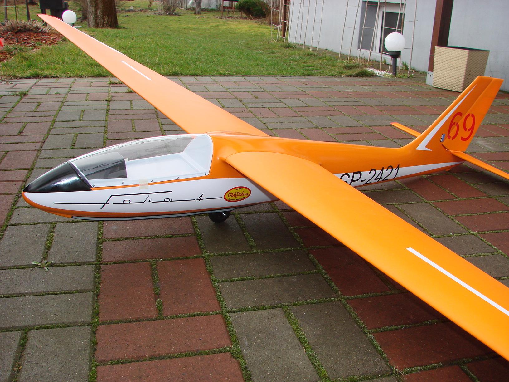 SZD-24 Foka 4 OldGliders Hobby