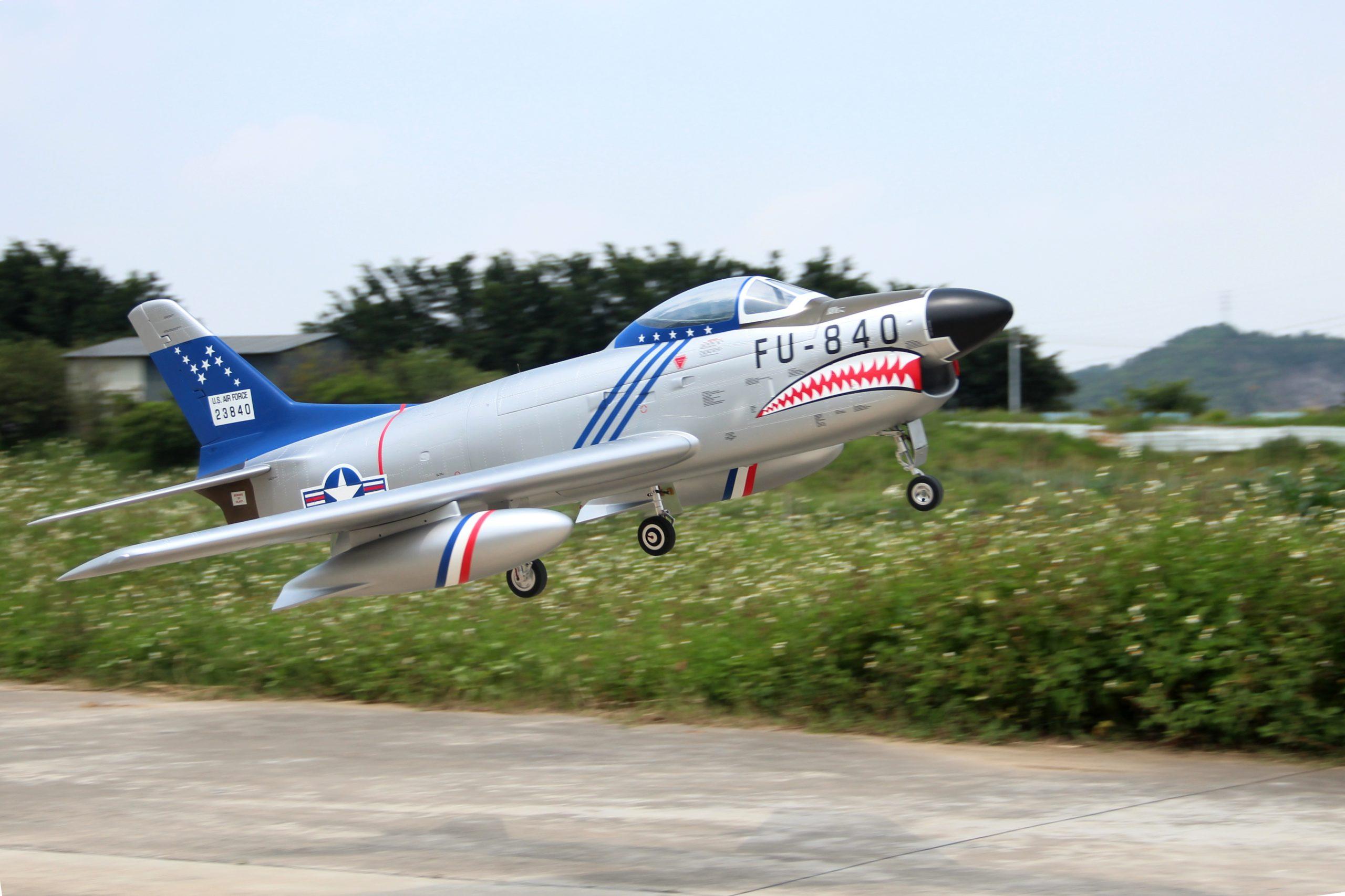 Sabre F-86D Pilot RC