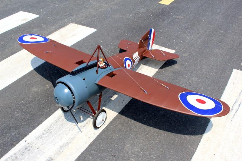 Bristol M1C Seagull Models