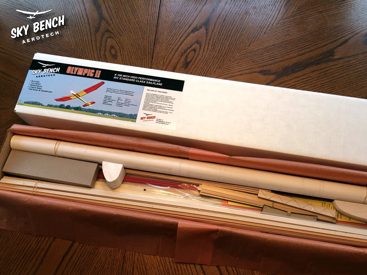 Olympic II Sky Bench Aerotech