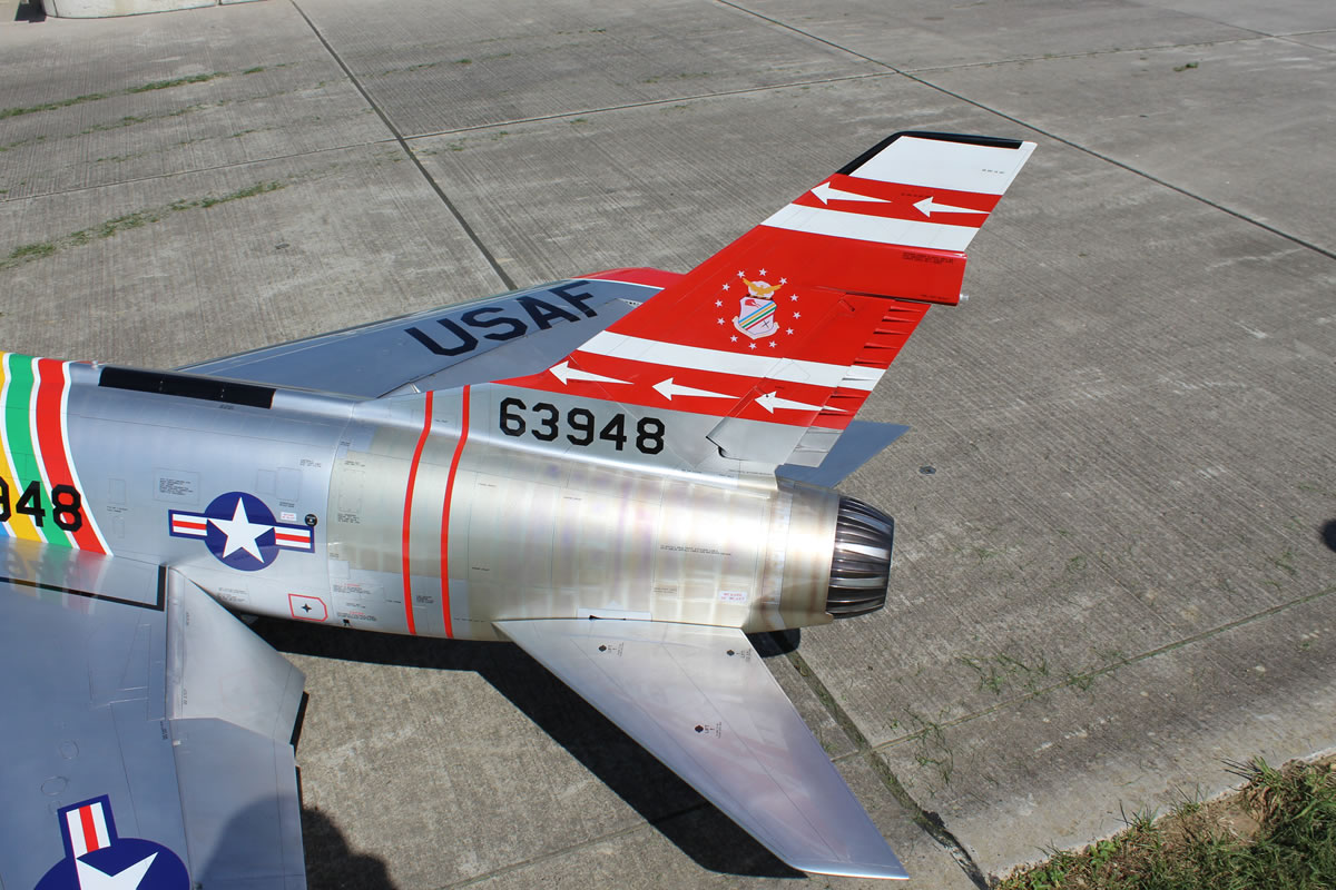 F-100 Super Sabre Tomahawk Aviation