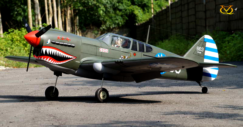 Curtiss P-40 VQ Model