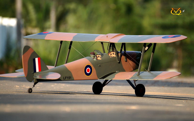 DH 82 Tiger Moth VQ Model