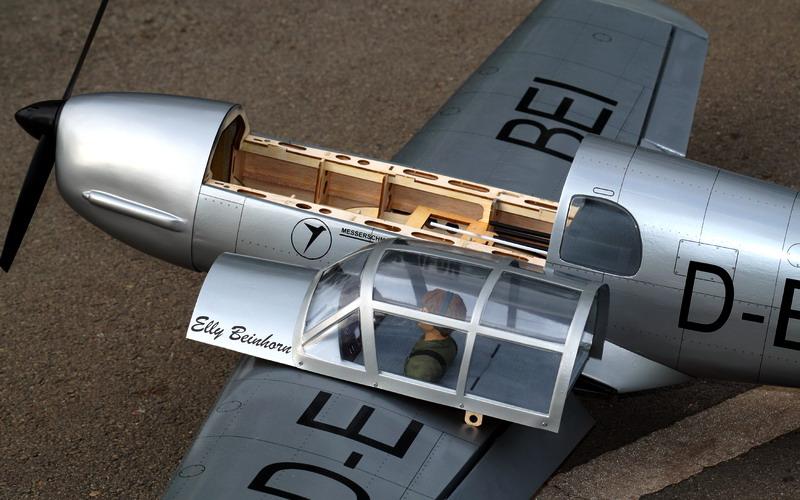 Messerschmitt BF-108 Taifun V2 VQ Model