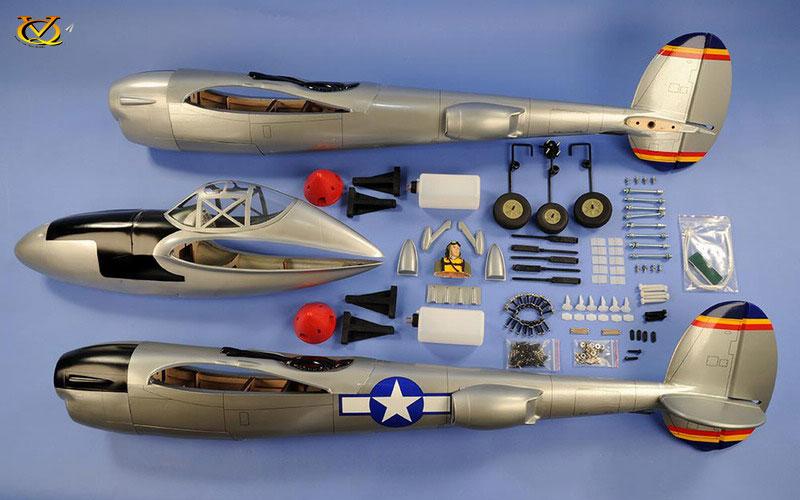 P-38 Ligthning VQ Model