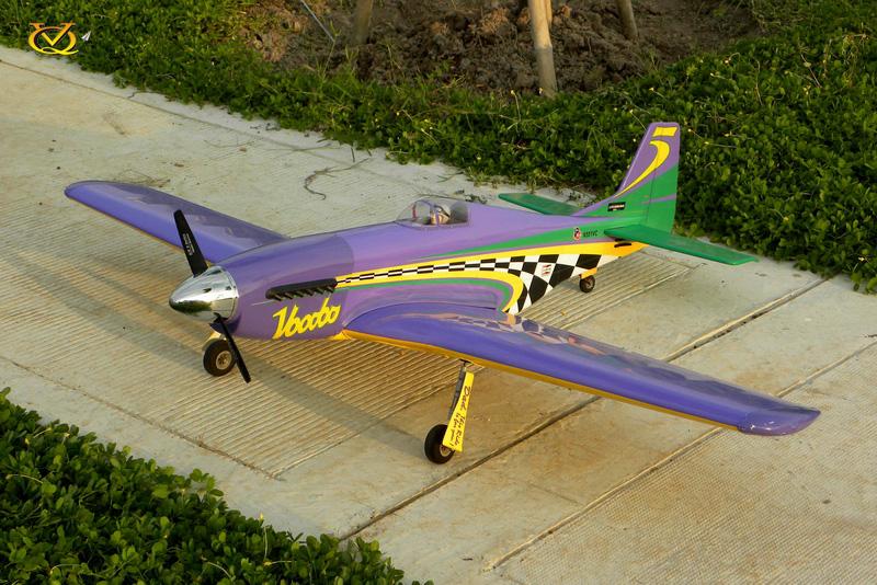 P-51 Mustang Voodoo VQ Model