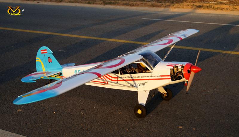 Piper PA-18 Super Cub VQ Model