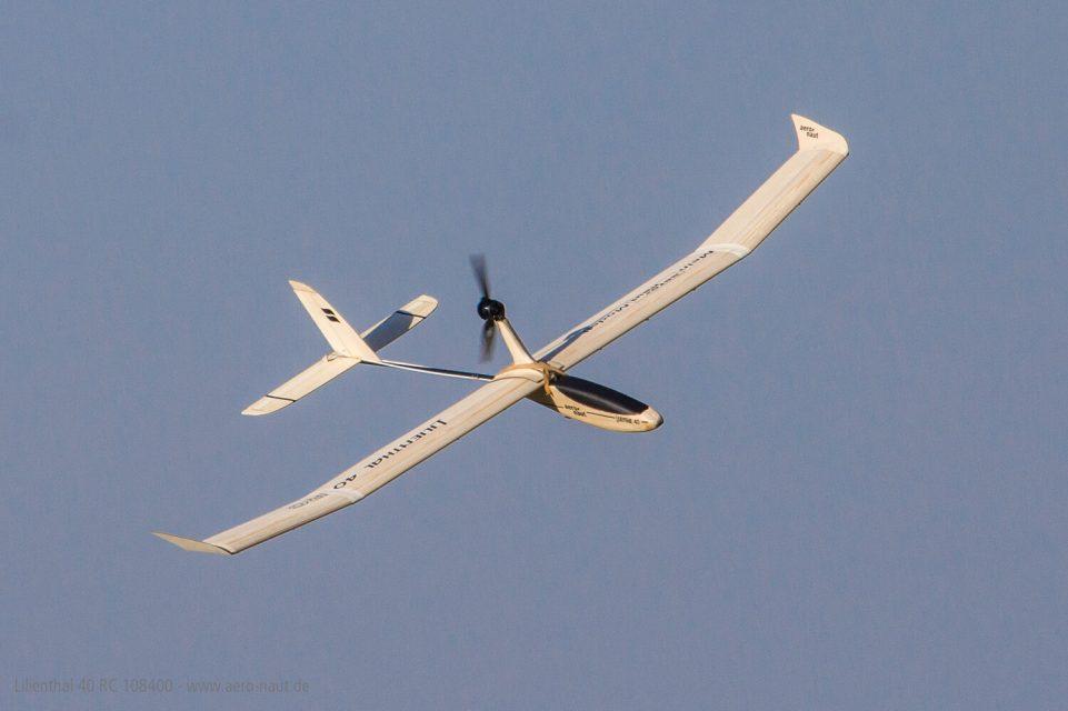 Lilienthal 40 RC aero-naut