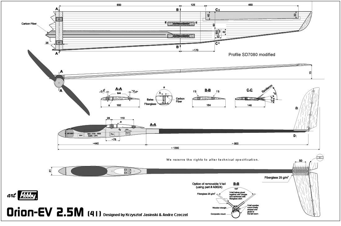 Orion EV 2.5m art Hobby