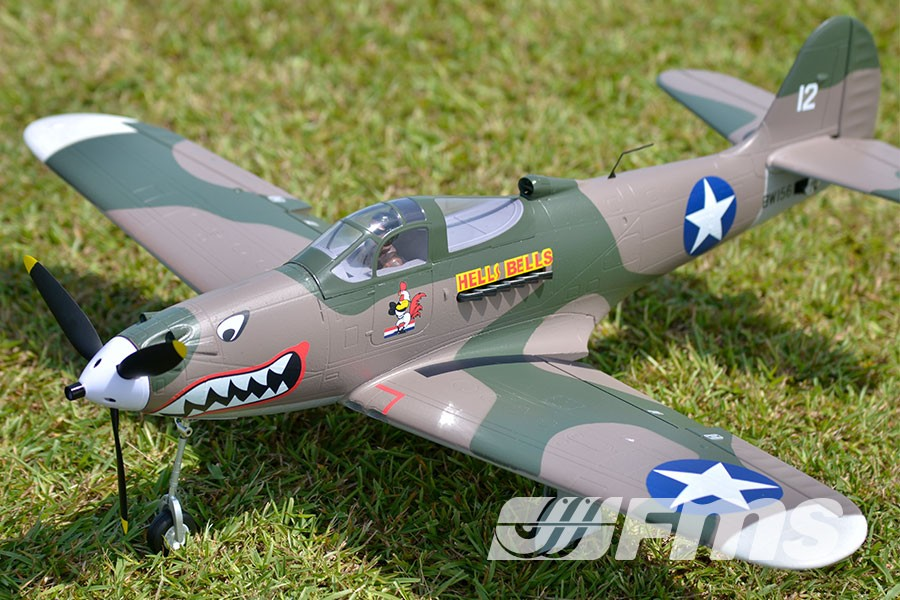 P-39 Hells Bells fms