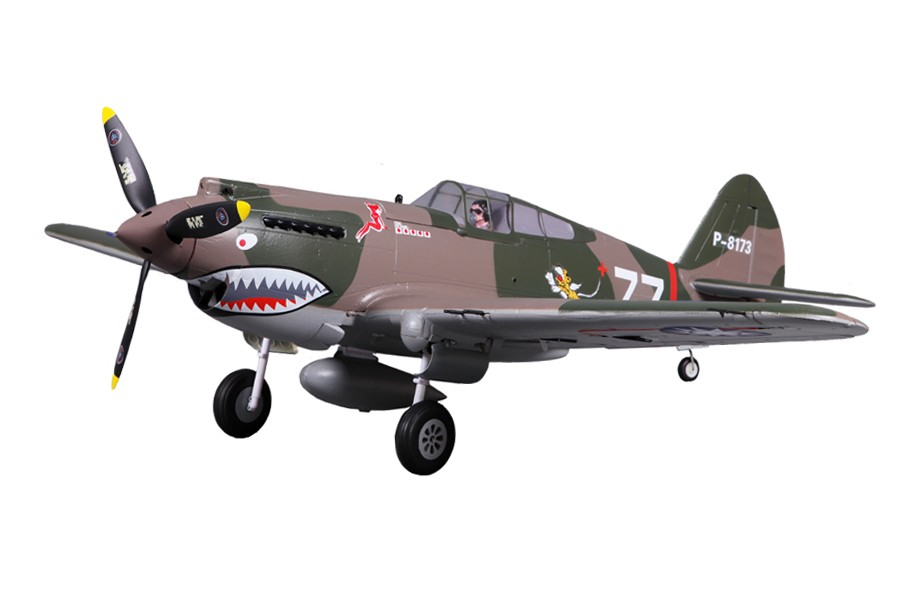 P-40B Flying Tiger fms