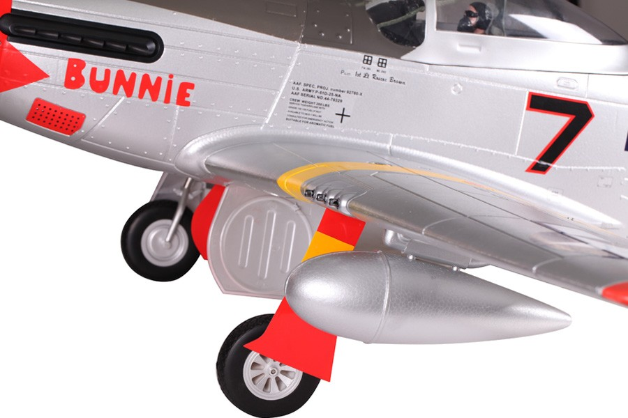 P-51 Mustang Red Tail fms