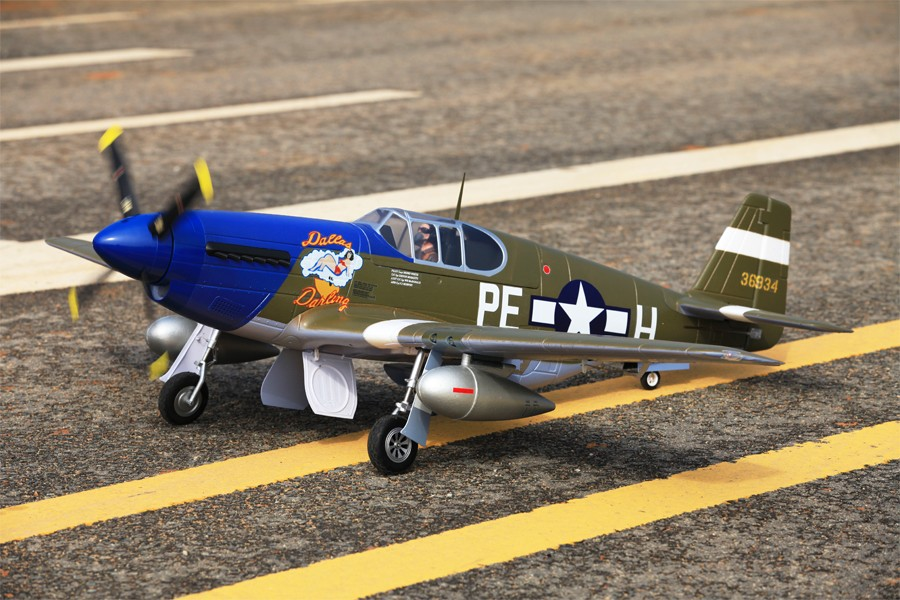 P-51B Mustang Dallas Darling fms